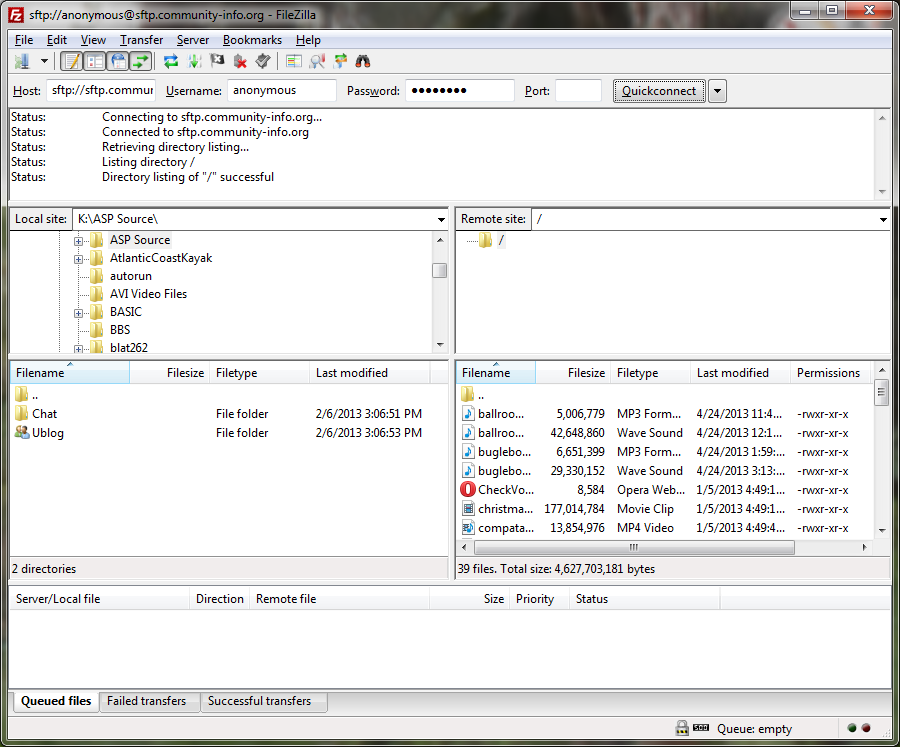 PuppyPC Now Runs My SFTP Server